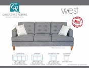 West Sofa Collection