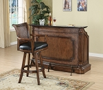 Elegant Wooden Bar Unit
