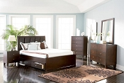 Cappuccino Finish Bed Frame