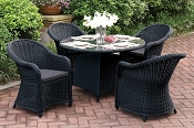 5 Pcs Patio Table Set