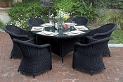 7 Pcs Outdoor Table Set