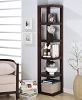 Elegant Cappuccino Finish Book Shelf