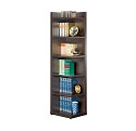 Contemporary Cappuccino Finish Book Shelf