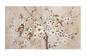 Elegant Plums Wall Painting