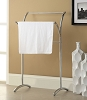 Chrome Finish Towel Rack
