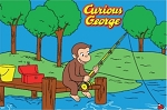Curious George Fishing Rug