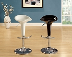 White or Black High Adjustable Abs Swivel Bar Stool