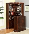 2 Pcs Voltaire Elegant Corner Bar Set