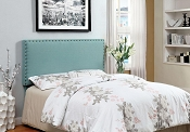 Blue Upholster Headboard