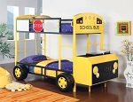 Yellow School Bus Bunk Twin
