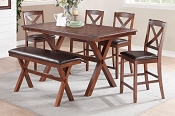 7 Pcs Dark Chocolate Dinette