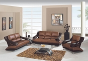 2 Pcs Two Tone Living Room Set