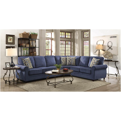 Kendrick Living Room Group - Blue or Chocolate
