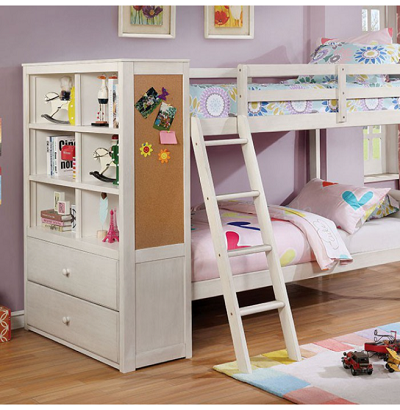 Athena Twin over Twin Bunk Bed
