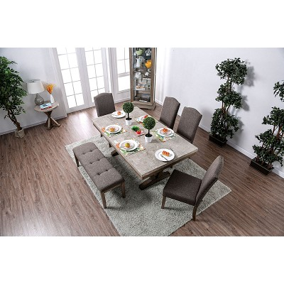 Genuine Marble Table Top Dining Set