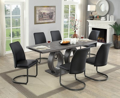 5 Pcs Saskia Dining Table set- amount of chairs optional