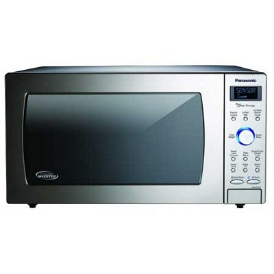 Panasonic 1.6 Cu. Ft. Stainless Steel Countertop Microwave