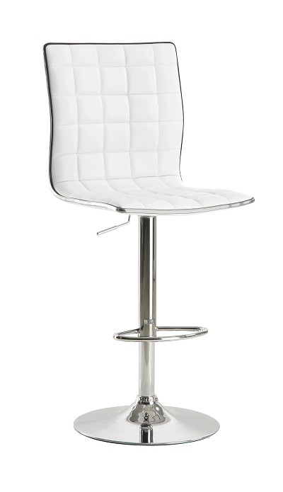Adjustable Bar stool- Black or White