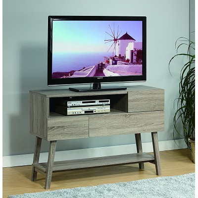 Dark Taupe Buffet Tv Stand
