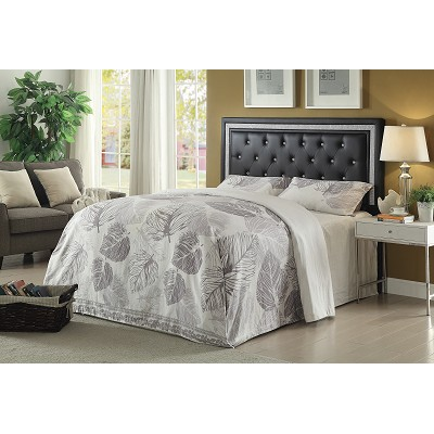Queen/Full Andenne Glamorous Contemporary Headboard
