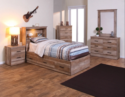 Montana Twin Chess Bed