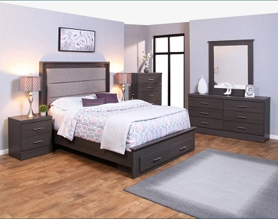 Monica Midnight Haze Bed Frame