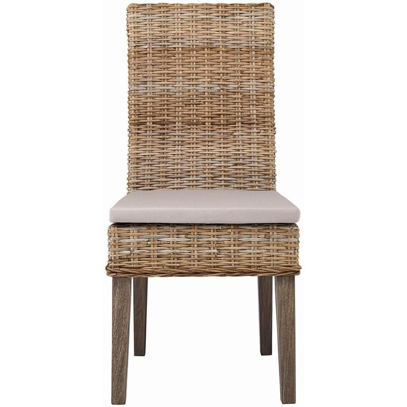 Davenport Rattan Dining Chair Pair (2)