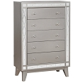 Leighton Metallic Chest of Drawers