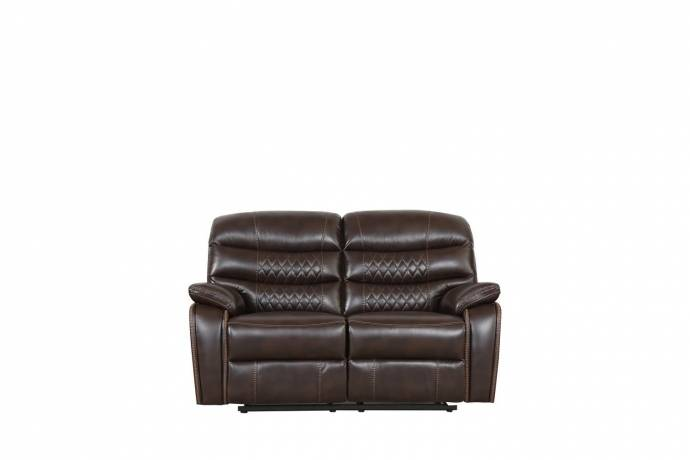 2 piece recliner set light brown