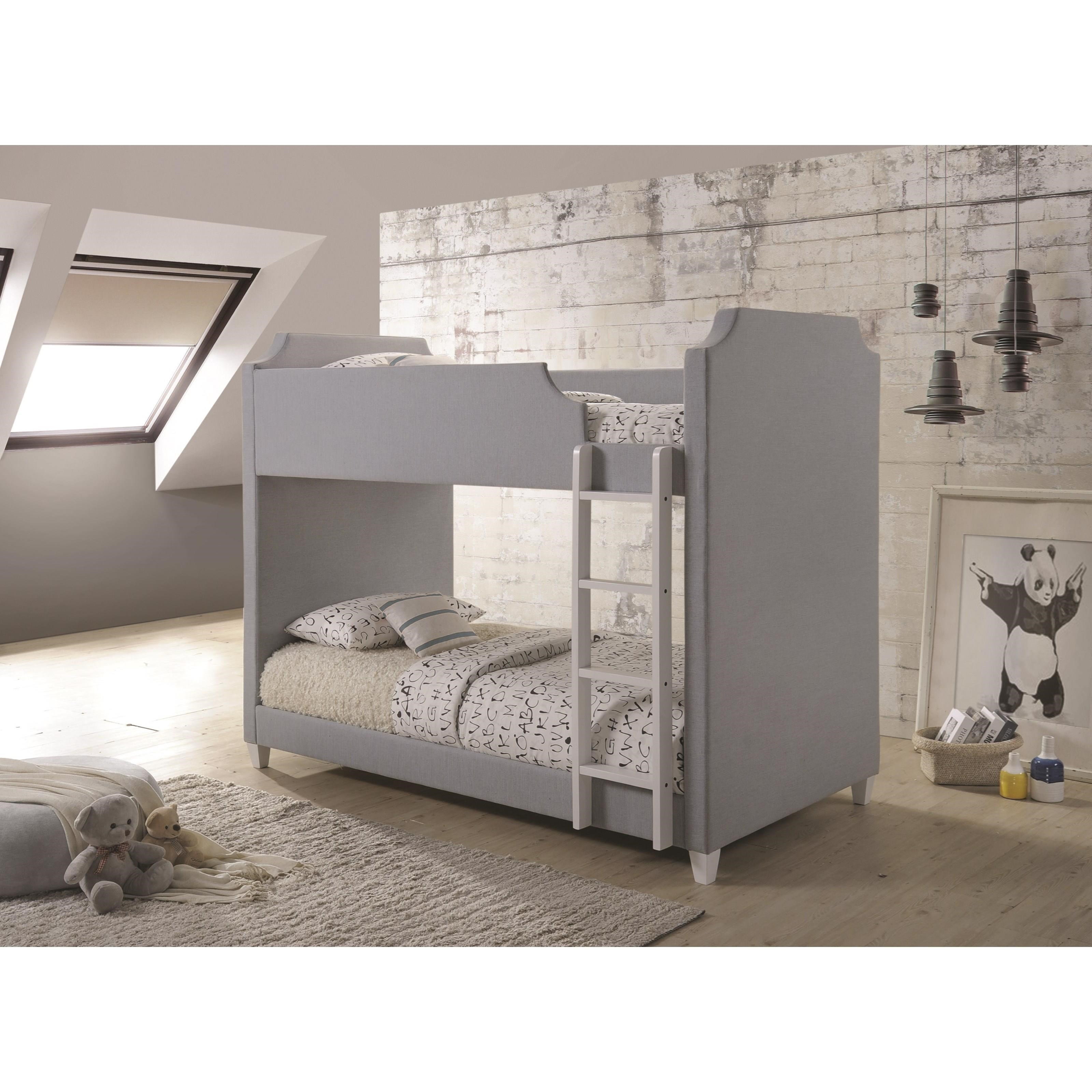 Gilroy Apartments: Gilroy Upholstered Two-Tone Bunk Bed