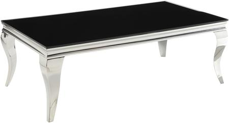 Chrome Finish Coffee Table