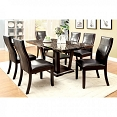 5 Pcs Clayton Marble Dining Set