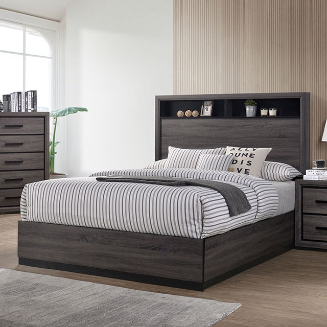 Bookcase Headboard Conwy Bed Frame