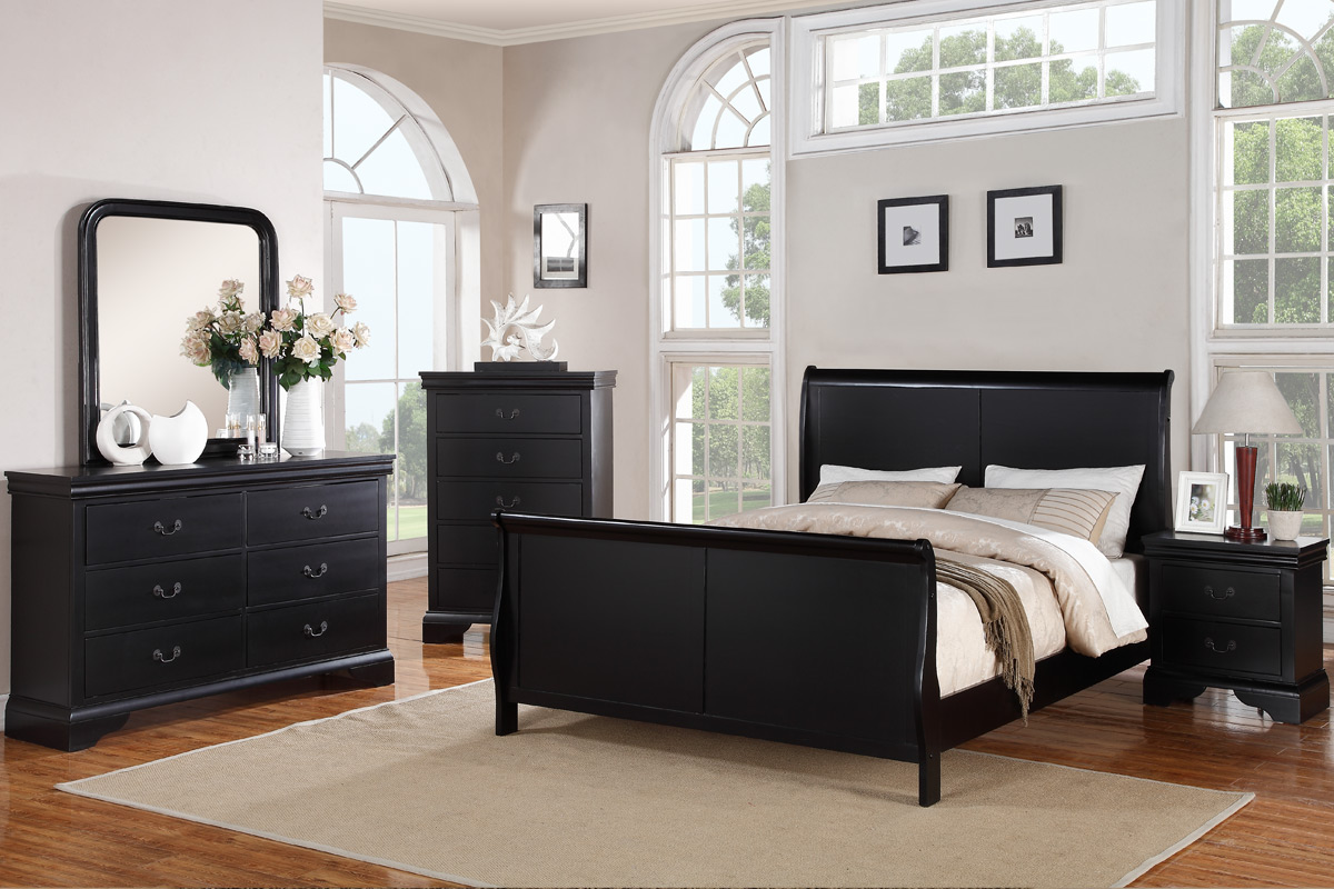 Dark Espresso Queen Bed Frame