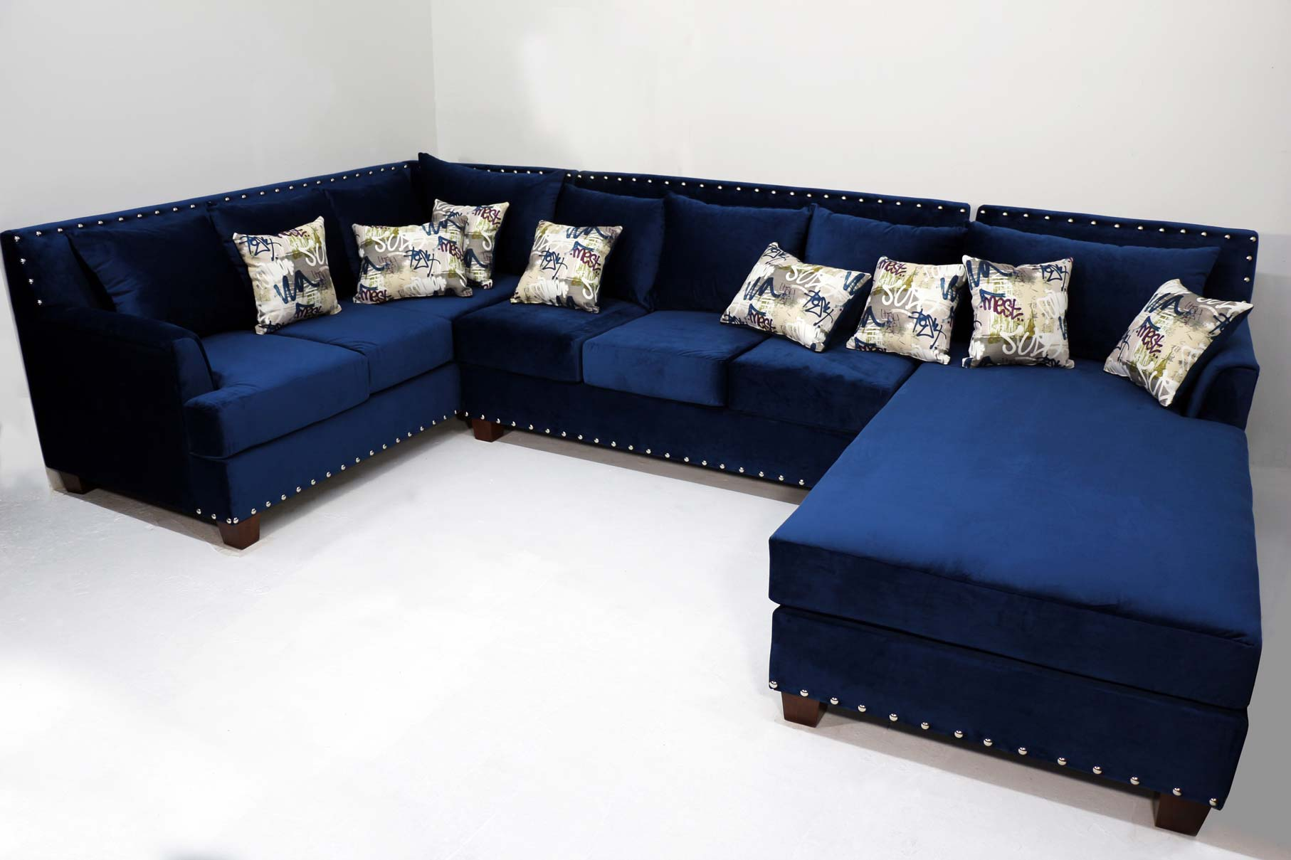 Picture of: 3 Pcs Ez Cusom Sectional Sofa With Chaise
