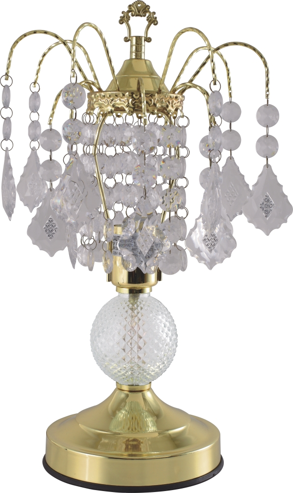 Traditional Chrystal Table Lamp