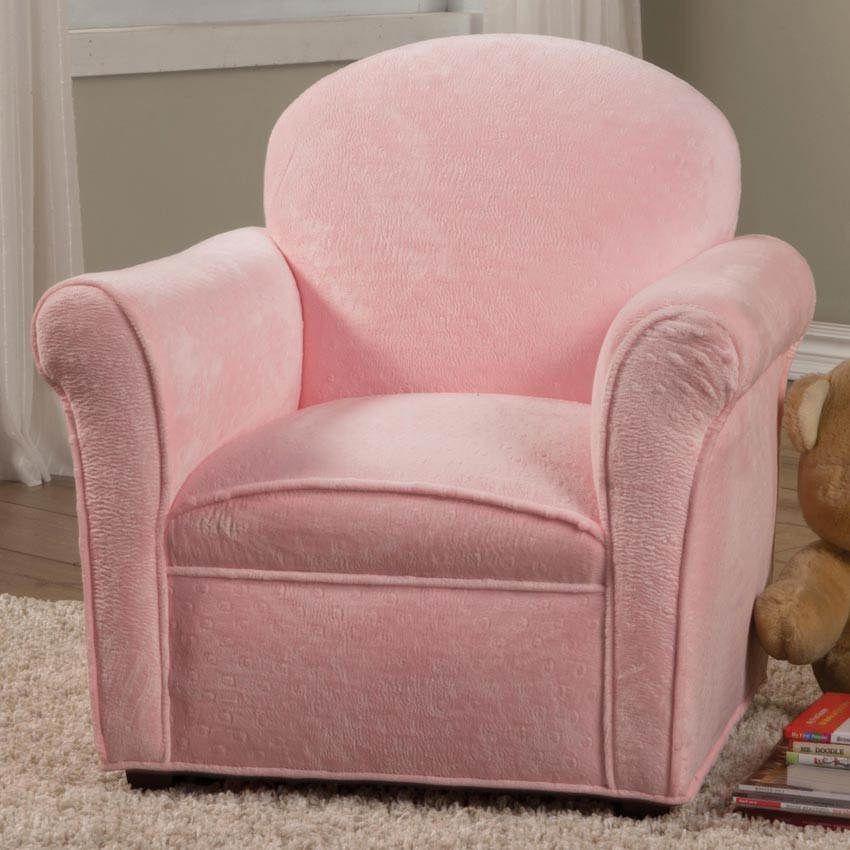 Pink Kids Accent Chair