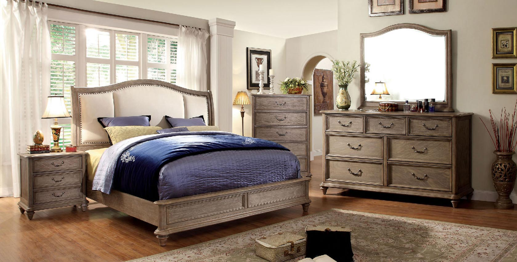 Belgrade Bedframe- Drawer or Fabric option