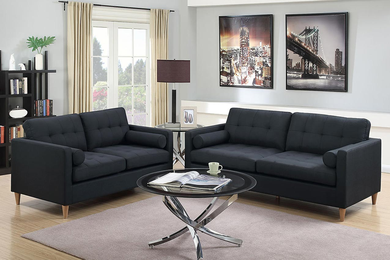 Add To My Lists 2 Pcs Linen Sofa Set Color Option