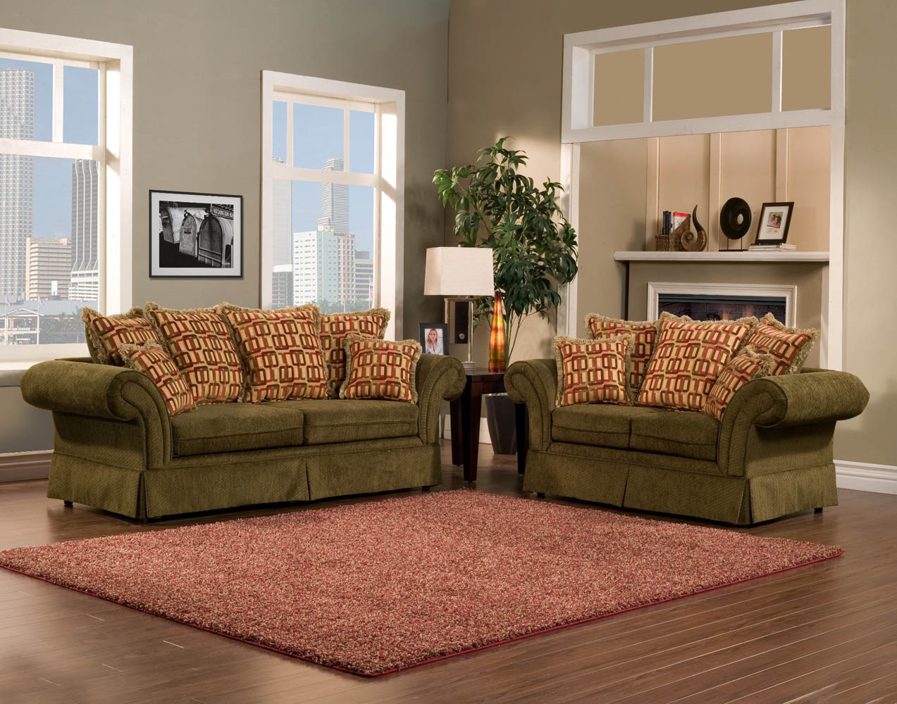 Olive Green Furniture