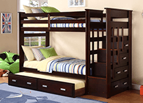 Twin/Twin Bunk Beds