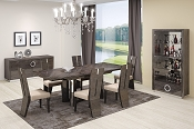 Gray Modern Dining Table