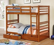California IV TWIN/TWIN Bunk Bed with Drawers Included
