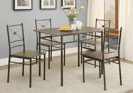 5 Pcs Small Dining Set from Coaster Fine Furniture