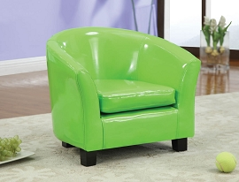 Green Kid Chair