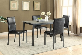 5 Pcs Casual Dining Set from Coaster Fine furniture