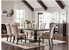 5 Pcs Phelps Traditional Antique Noir Dining Table