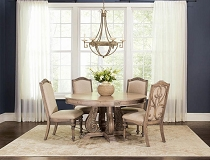 Ilana Round Dining Table Set