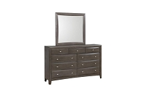 Phoenix 9-Drawer Dresser Coco Grey