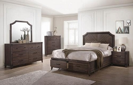 Dark Grey Oak Richmond Bed Frame